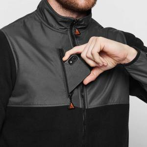 AX22-granite-dual-bonded-fleece-axinite-premium-work-wear-pocket-zip